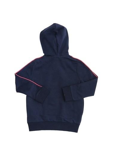Pink&Orange Sweatshirt Lacivert